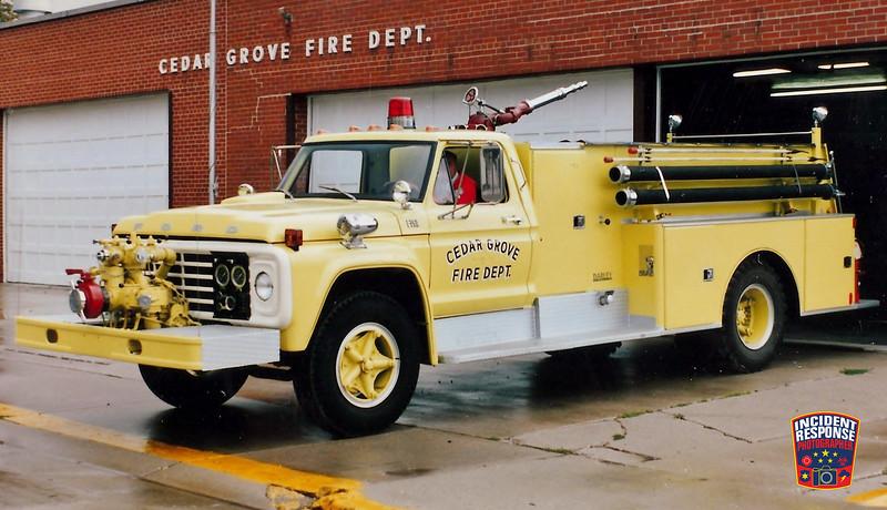 Cedar Grove Fire Dept. Engine 95