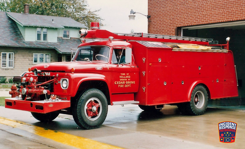 Cedar Grove Fire Dept. Engine 91