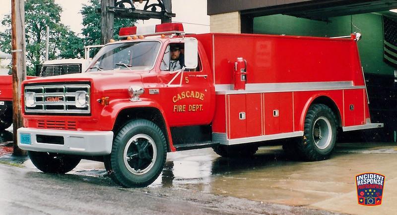 Cascade Fire Dept. Tanker 5