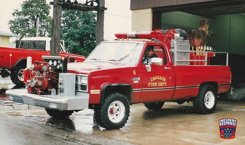 Cascade Fire Dept. Engine 6