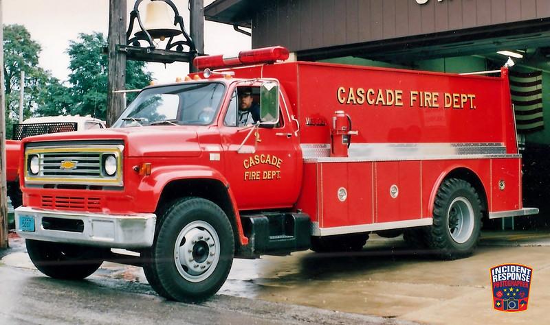 Cascade Fire Dept. Tanker 2