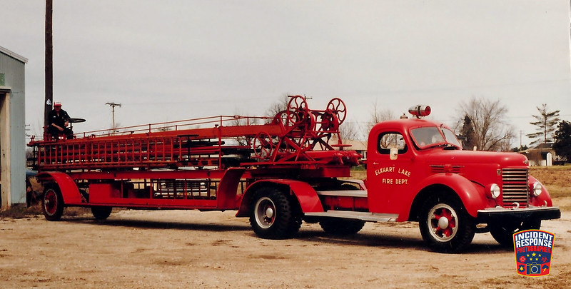 Elkhart Lake Fire Dept. Tiller Ladder