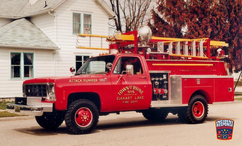 Elkhart Lake Fire Dept. Attack Pumper 6