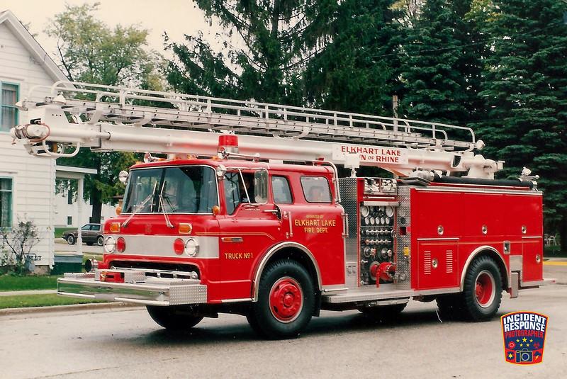 Elkhart Lake Fire Dept. Ladder Truck 1