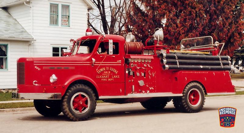 Elkhart Lake Fire Dept. Engine 3