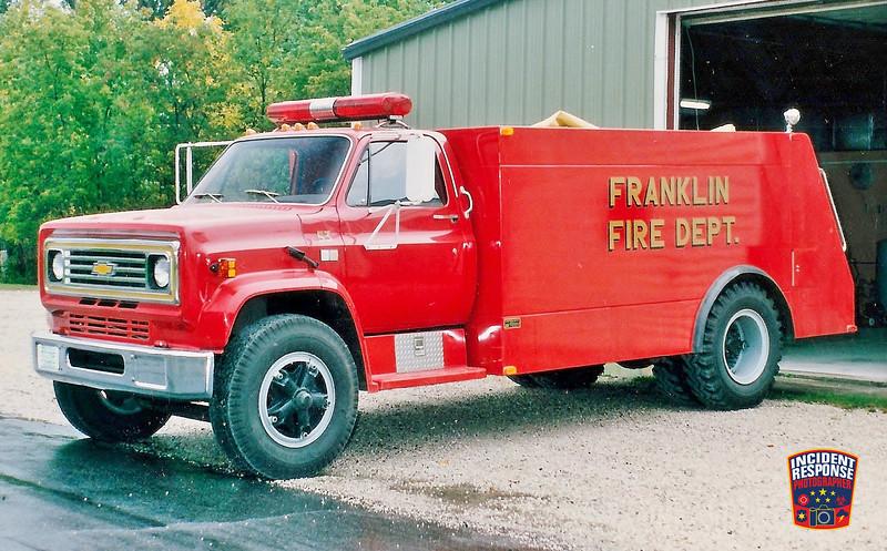 Franklin Fire Dept. Tanker 53