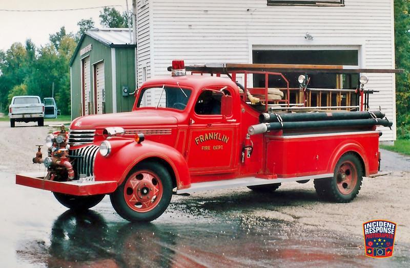 Franklin Fire Dept. Engine 51