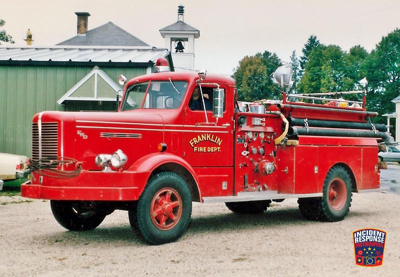 Franklin Fire Dept. Engine 50