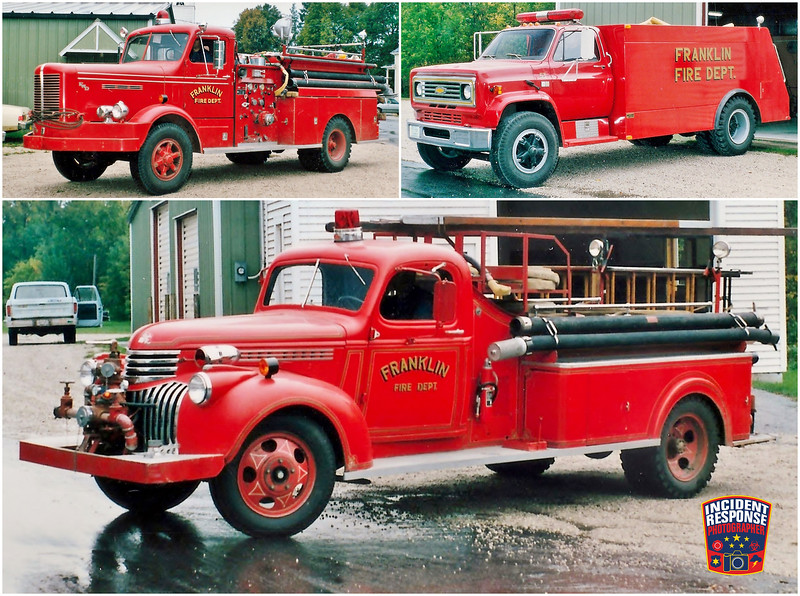 Franklin Fire Department Apparatus