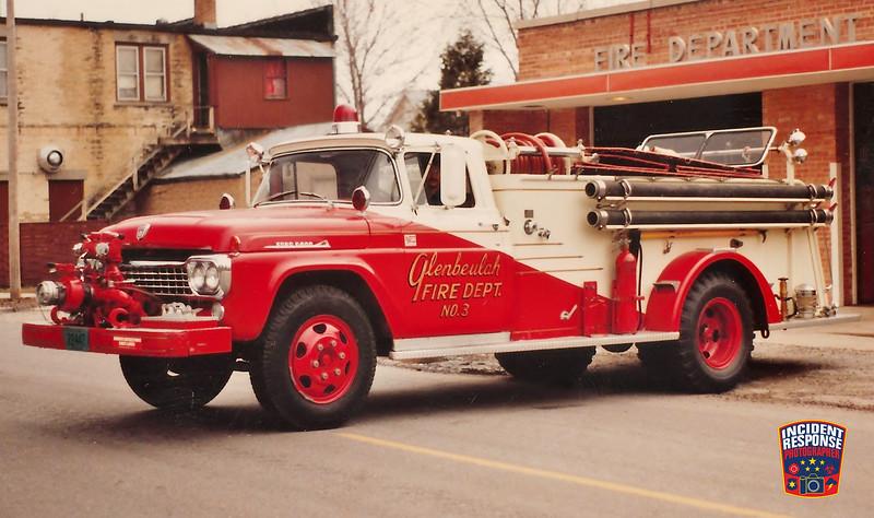Glenbeulah Fire Dept. Engine 3