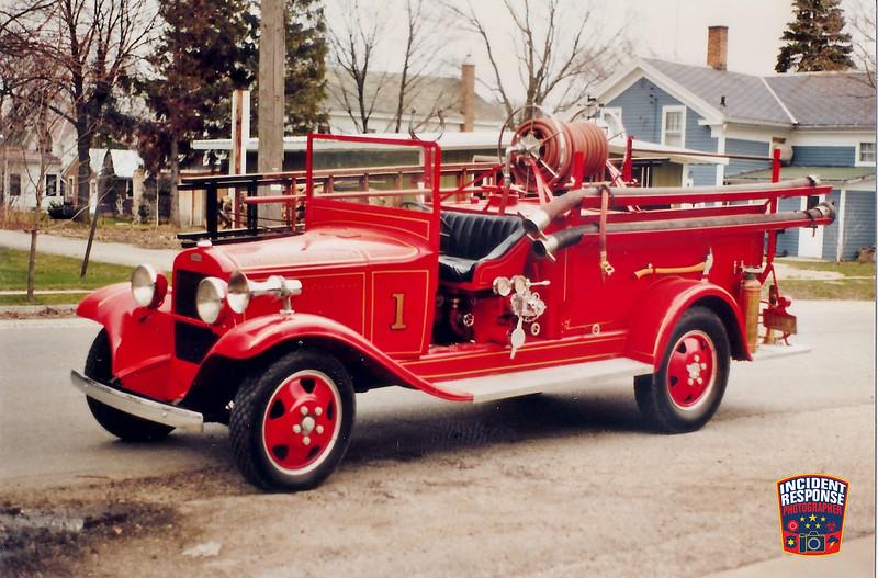 Glenbeulah Fire Dept. Engine 1