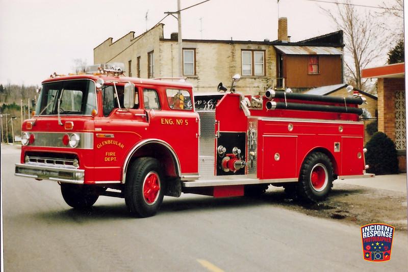 Glenbeulah Fire Dept. Engine 5