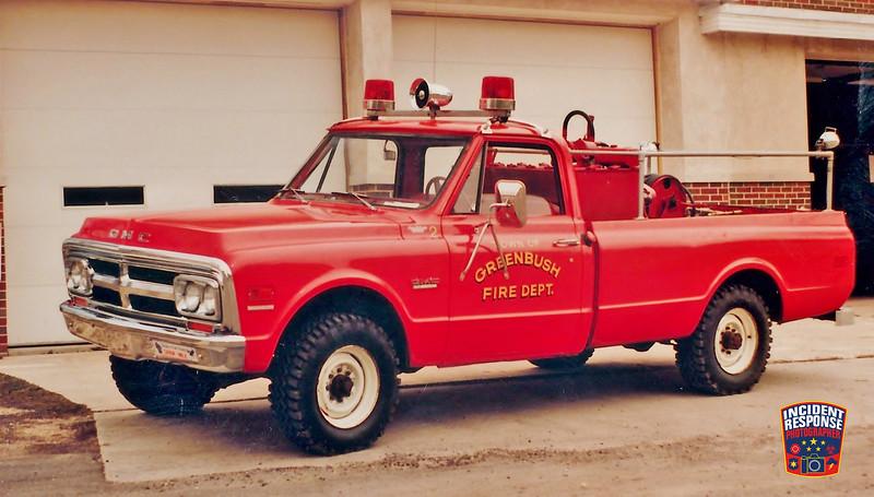 Greenbush Fire Dept. Brush Truck 2