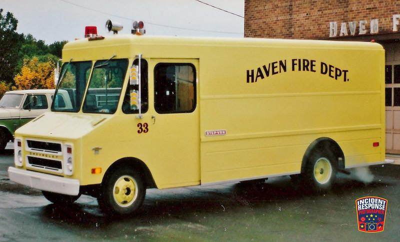 Haven Fire Dept. Squad 33