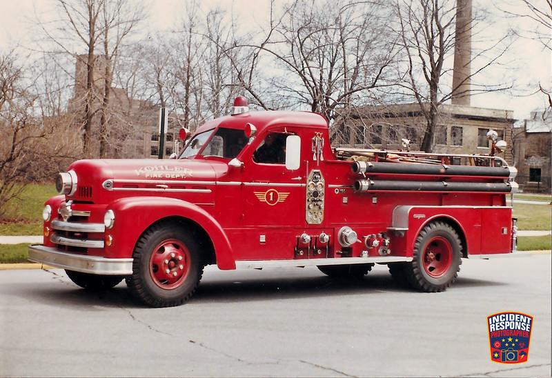 Kohler Fire Dept. Engine 1