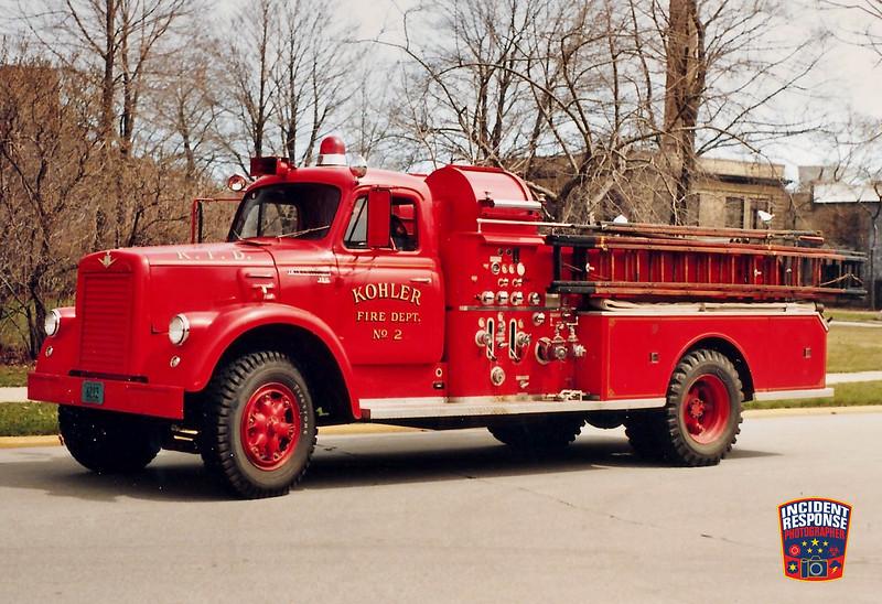 Kohler Fire Dept. Engine 2