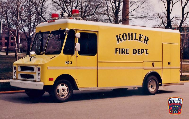 Kohler Fire Dept. Squad 3