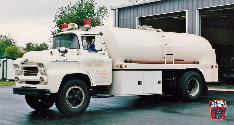 Oostburg Fire Dept. Tanker 405