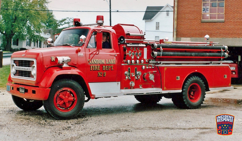 Random Lake Fire Dept. Engine 9