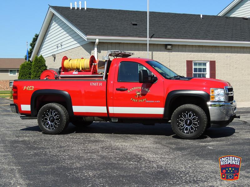 Random Lake Fire Dept. Brush Truck 31