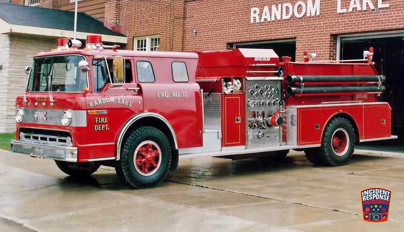 Random Lake Fire Dept. Engine 13