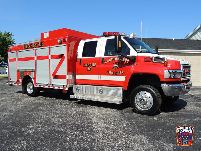 Random Lake Fire Dept. Rescue 30