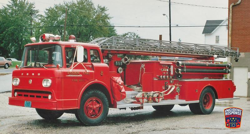 Random Lake Fire Dept. Ladder Truck 8