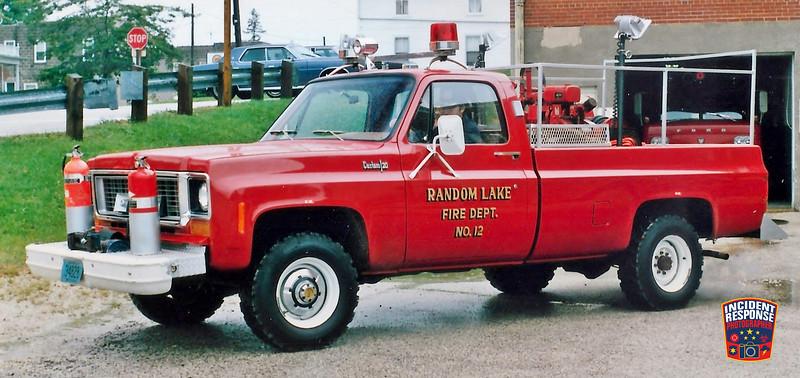 Random Lake Fire Dept. Brush Truck 12