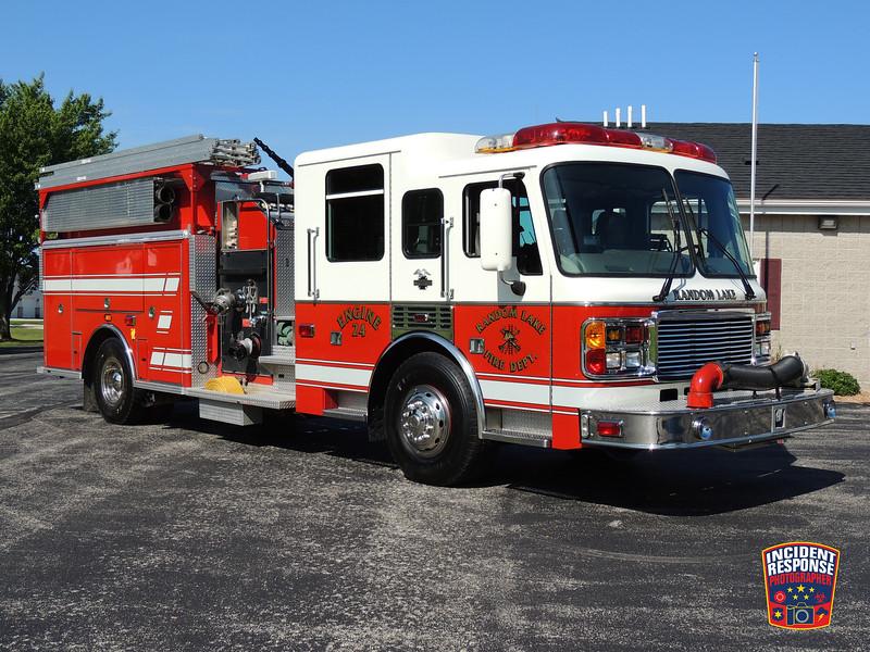 Random Lake Fire Dept. Engine 24