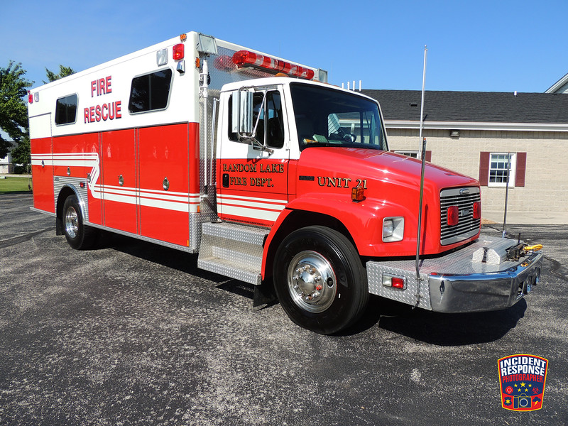 Random Lake Fire Dept. Unit 21