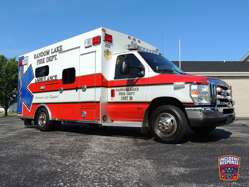 Random Lake Fire Dept. Ambulance 29