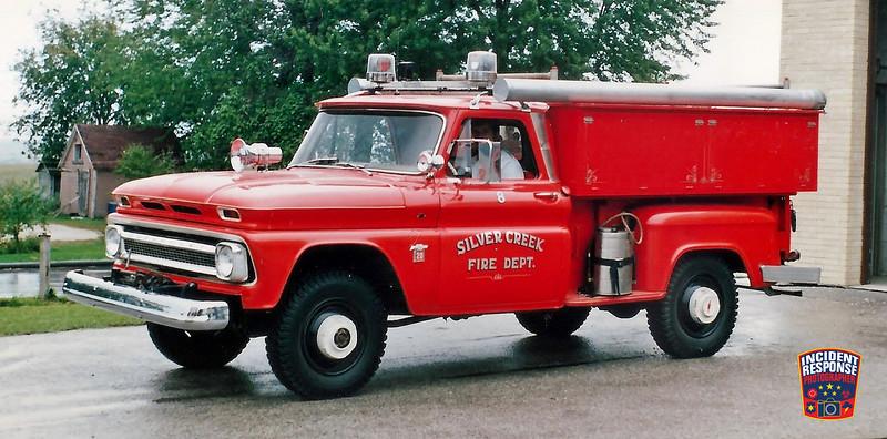 Silver Creek Fire Dept. Brush Truck 8