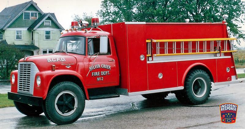 Silver Creek Fire Dept. Tanker 2