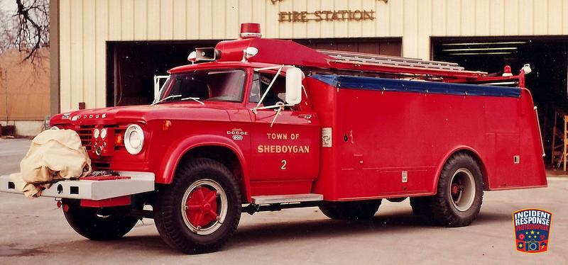 Town of Sheboygan Fire Dept. Tanker 2