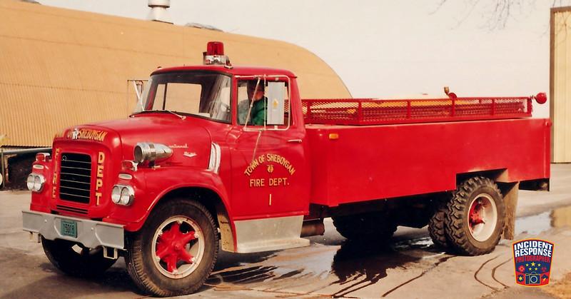 Town of Sheboygan Fire Dept. Tanker 1