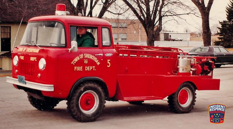 Town of Sheboygan Fire Dept. Brush Truck 5