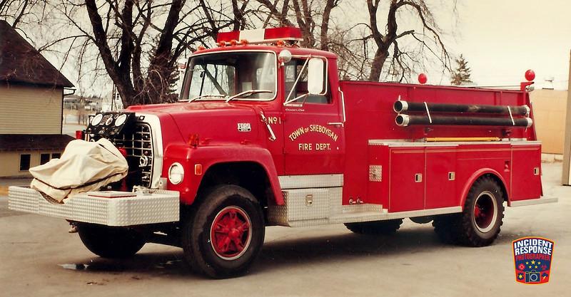 Town of Sheboygan Fire Dept. Engine 1