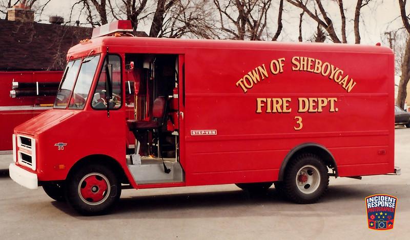 Town of Sheboygan Fire Dept. Squad 3