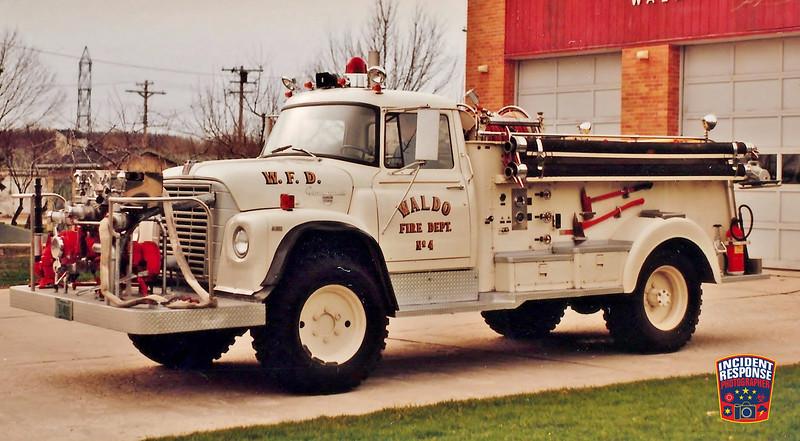 Waldo Fire Dept. Engine 4