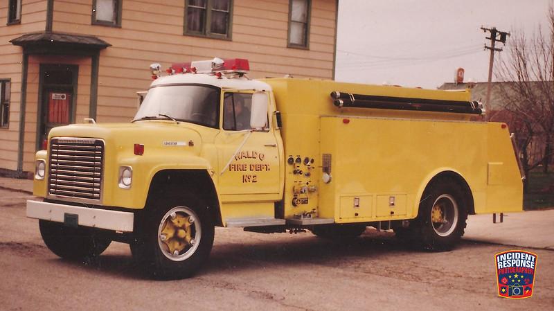 Waldo Fire Dept. Tanker 2