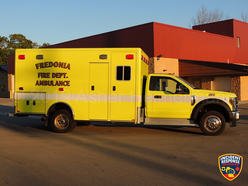 Fredonia Fire Department Ambulance 650