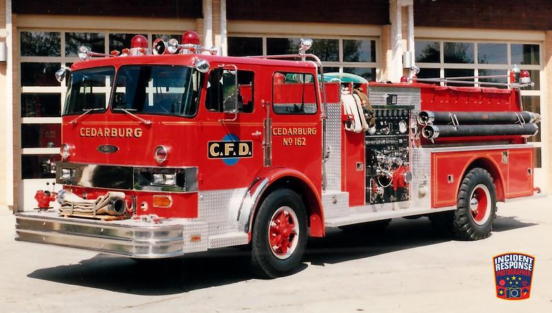 Cedarburg Fire Dept. Engine 162
