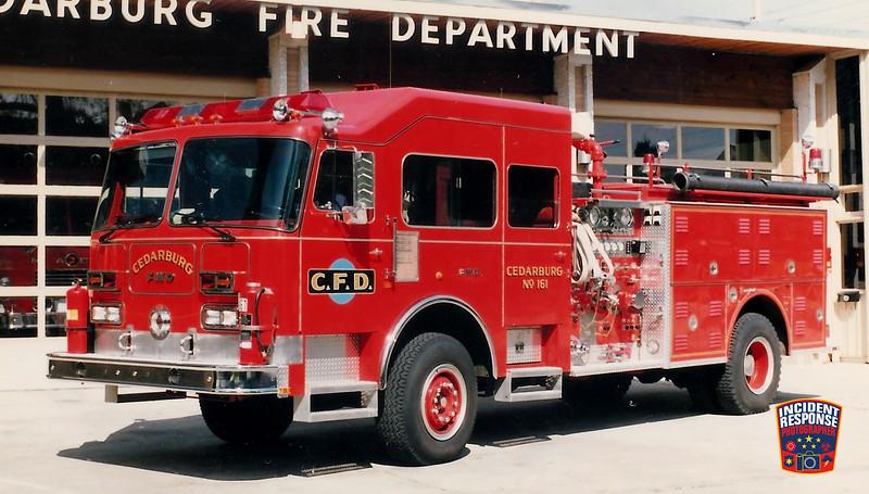 Cedarburg Fire Dept. Engine 161