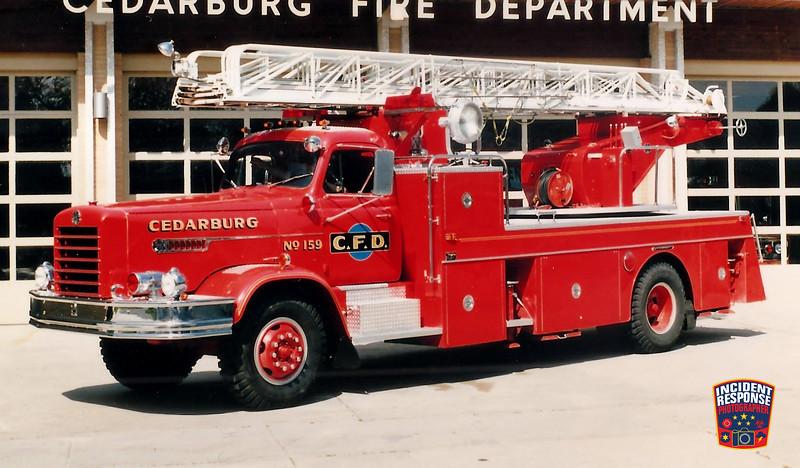 Cedarburg Fire Dept. Ladder Truck 159