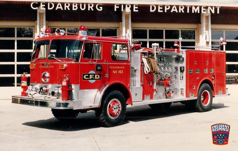 Cedarburg Fire Dept. Engine 163