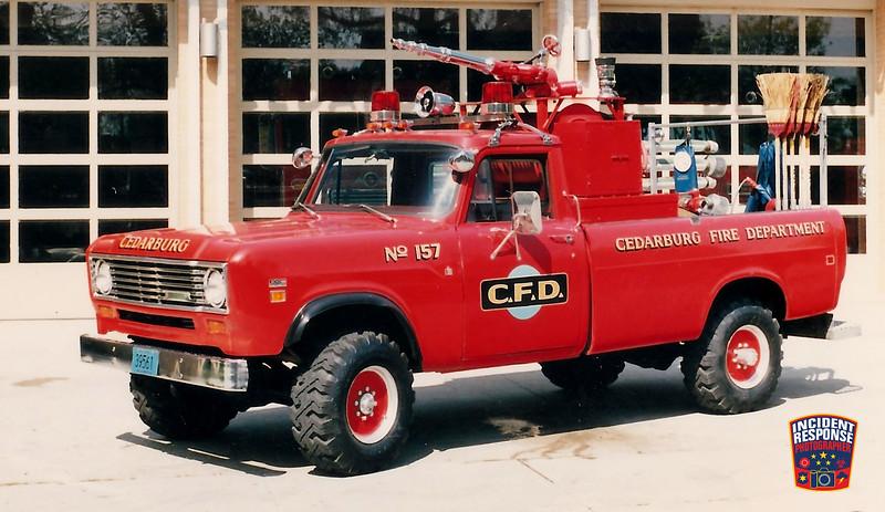 Cedarburg Fire Dept. Brush Truck 157