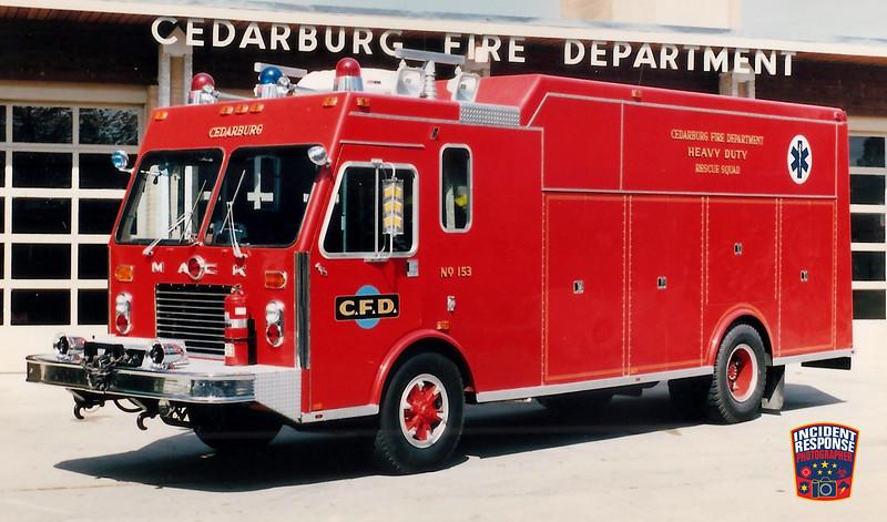 Cedarburg Fire Dept. Rescue Squad 153