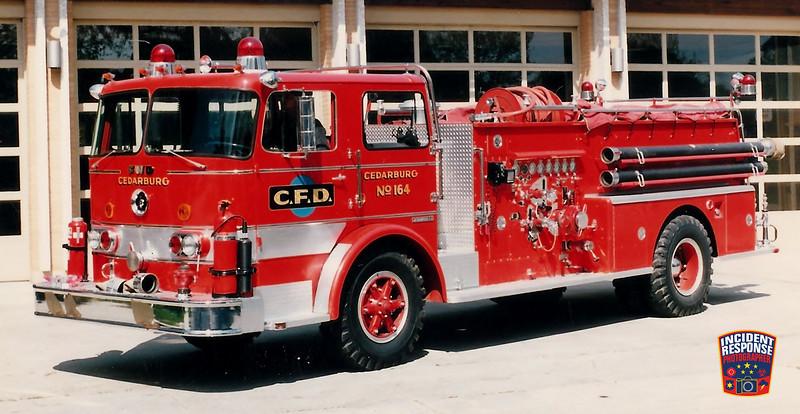 Cedarburg Fire Dept. Engine 164