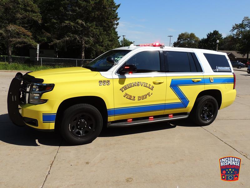 Thiensville Fire Dept. Paramedic Intercept 555