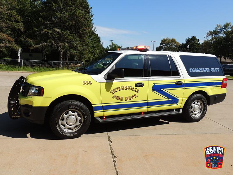 Thiensville Fire Dept. Command 554